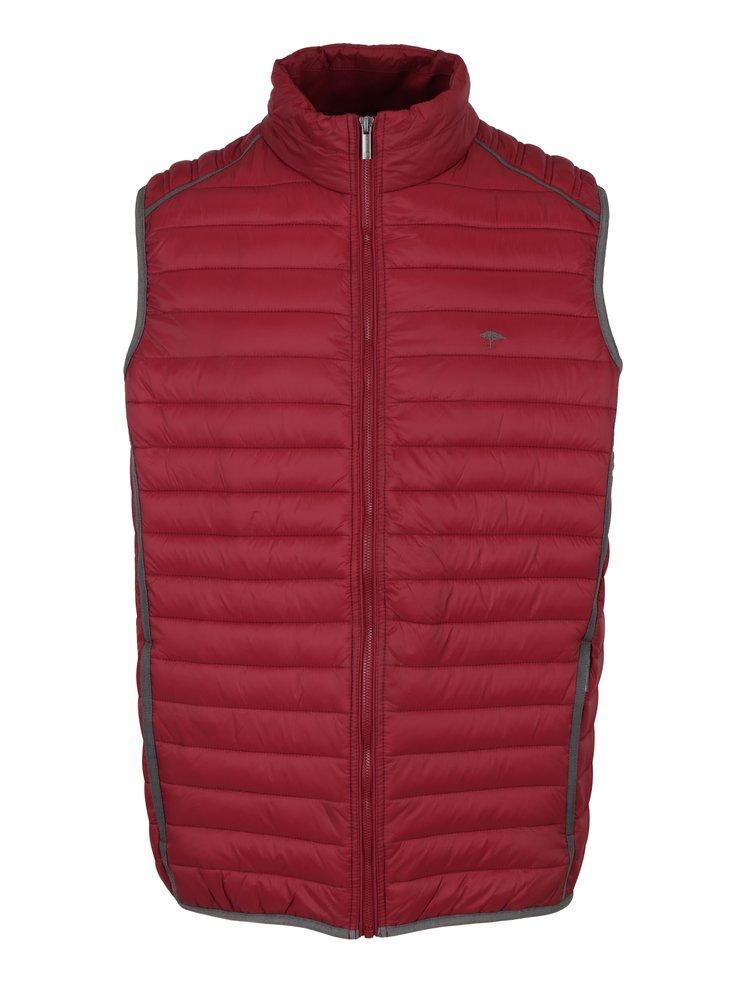 Červená prošívaná vesta Fynch-Hatton