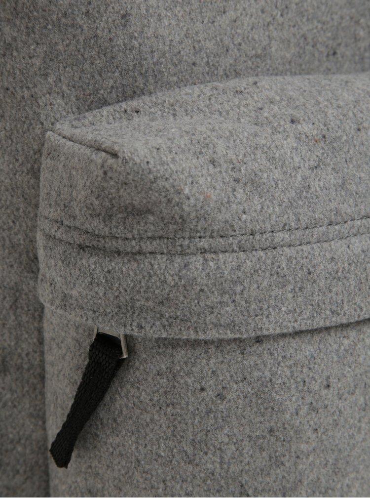 Rucsac gri melanj din amestec de lana VANS Deana III