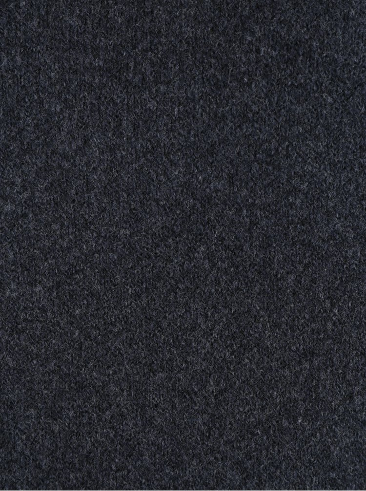 Tmavě modré žíhané svetrové šaty ONLY Celia