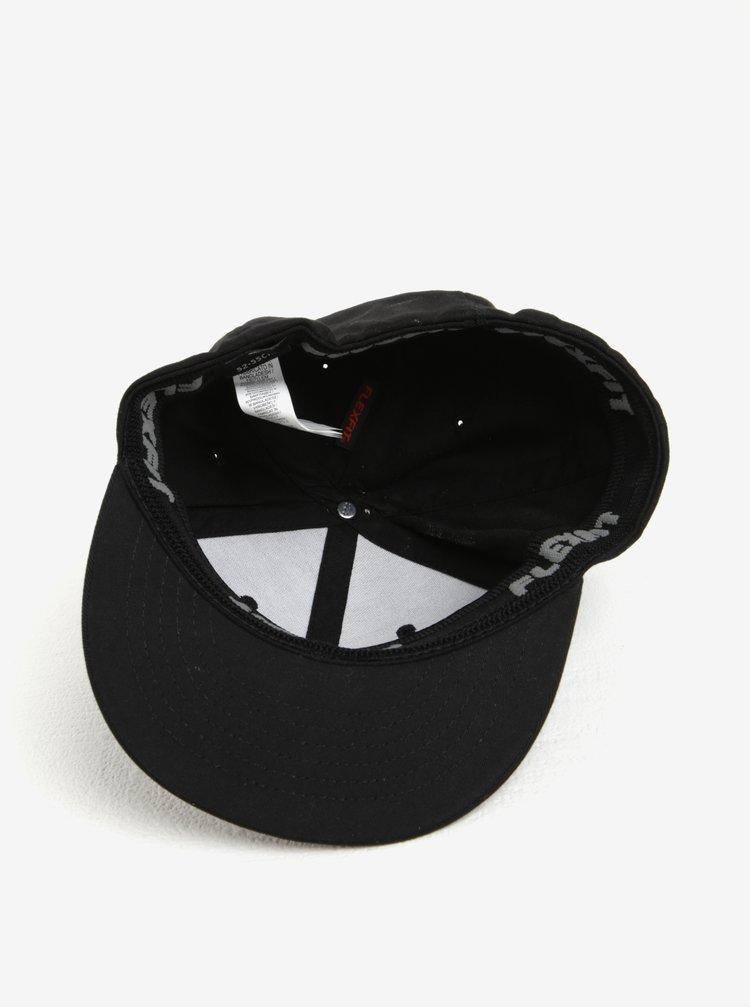 Černá klučičí kšiltovka s rovným kšiltem Quiksilver