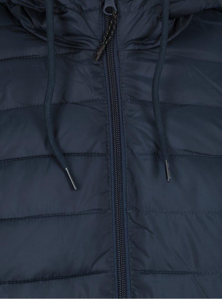 Geaca matlasata albastru inchis rezistenta la apa Quiksilver