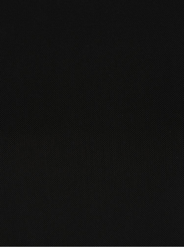 Černá halenka s volánem ONLY Tribecca