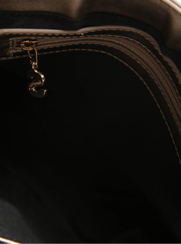 Crossbody kabelka v bronzové barvě Desigual Varsovia Lottie