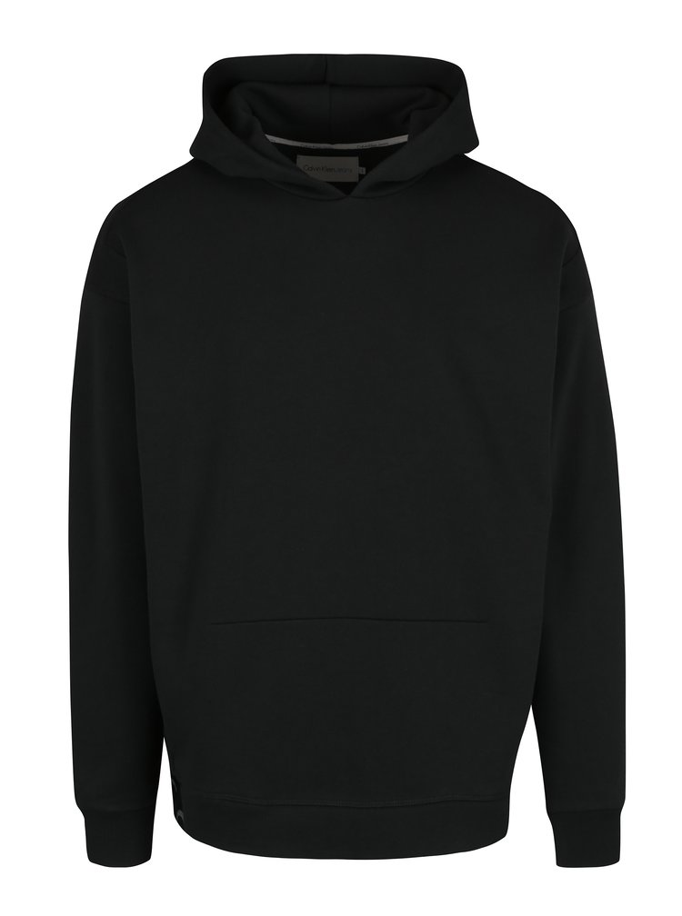 Černá pánská mikina s kapucí Calvin Klein Jeans Hiro