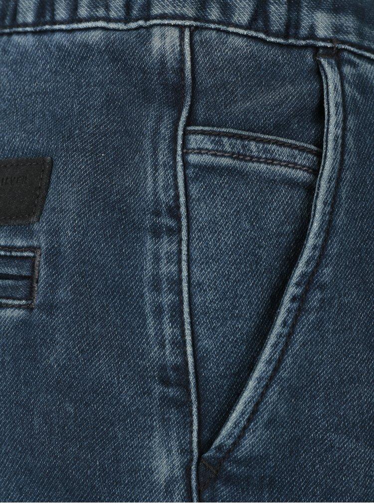 Blugi albastri cu talie elastica pentru barbati  Quiksilver