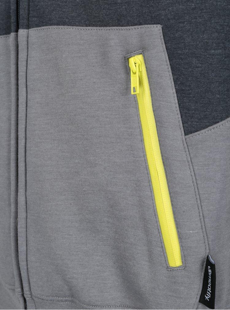 Hanorac gri&galben pentru barbati MEATFLY Twitch