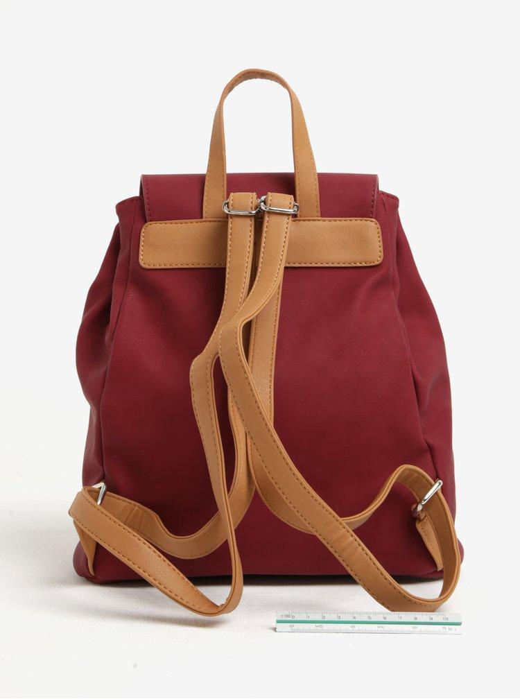 Vínový dámský batoh Meatfly Raver