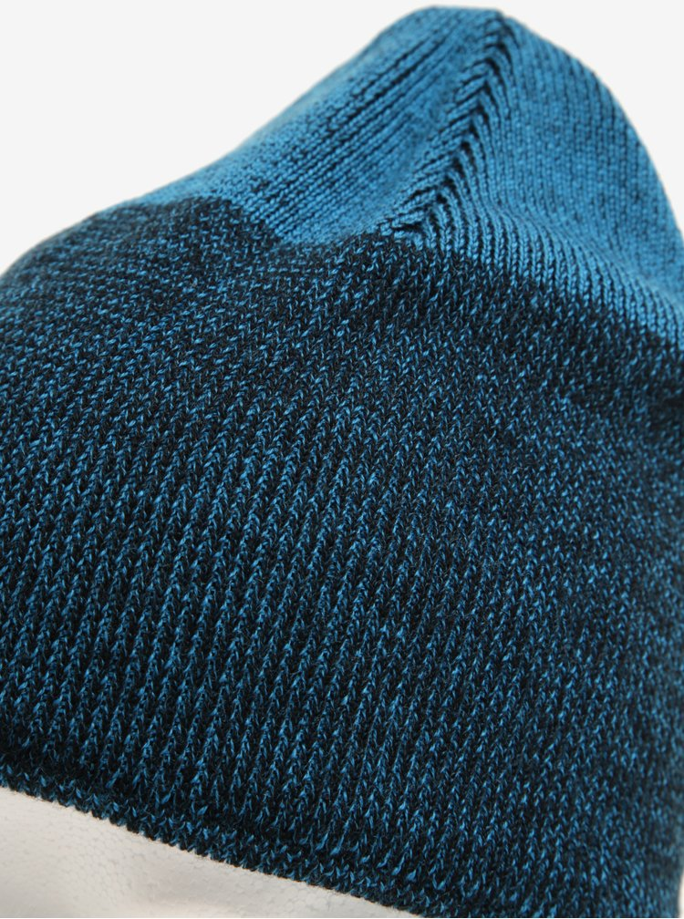 Černo- modrá klučičí funkční čepice z Merino vlny Reima Vaahtera