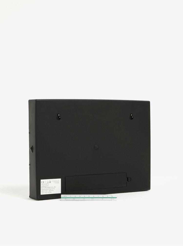 Černo-bílý světelný box na baterie BUTLERS