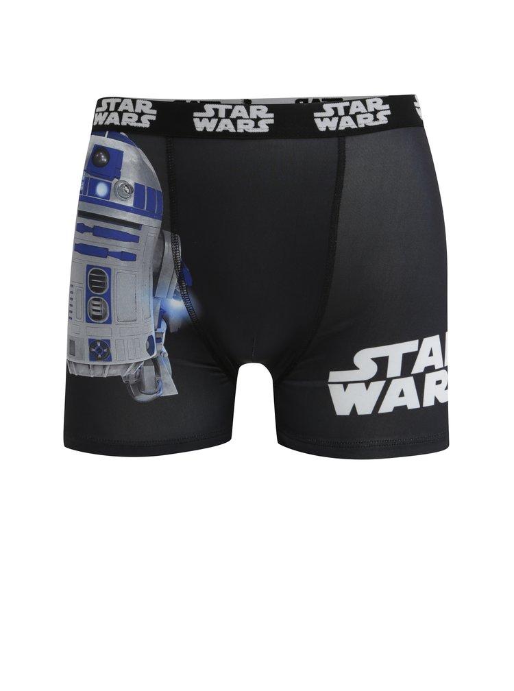 Černé pánské boxerky s potiskem Star Wars