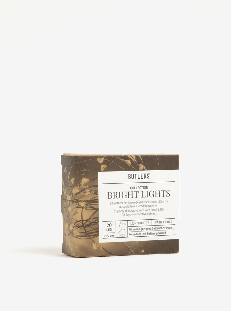 Instalatie de lumini cupru BUTLERS 20L