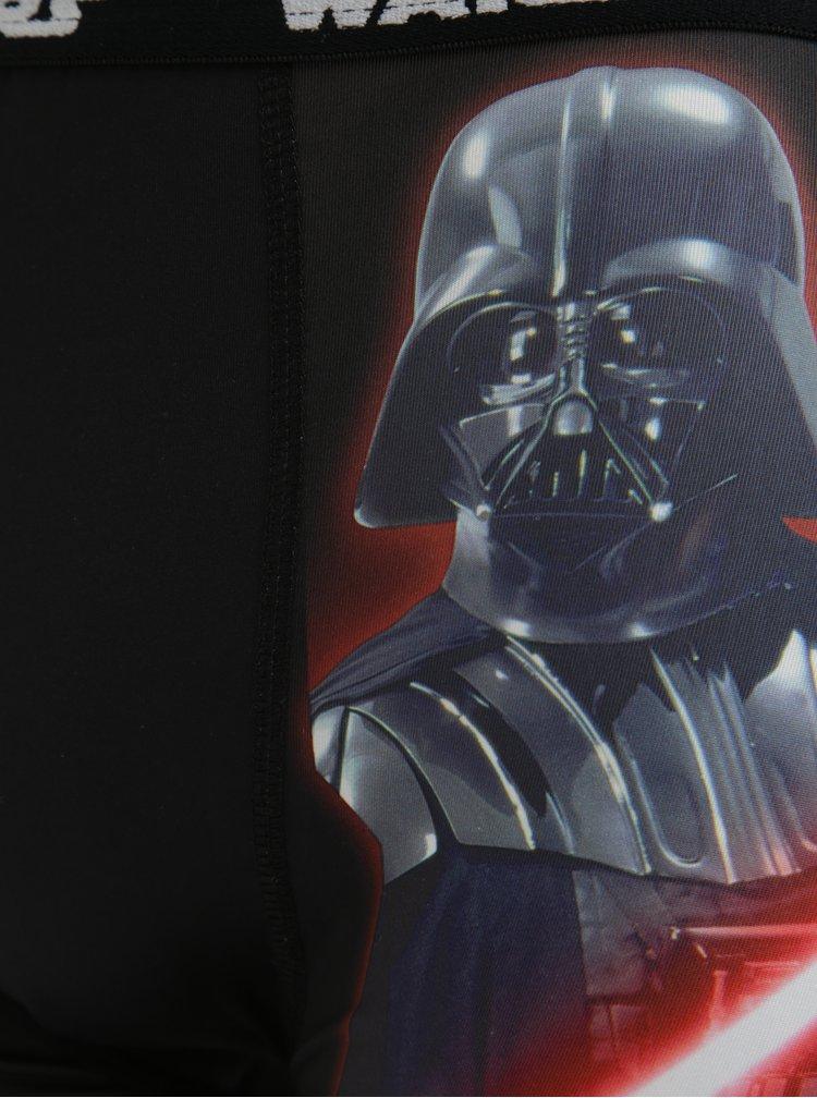 Červeno-černé pánské boxerky s potiskem Star Wars