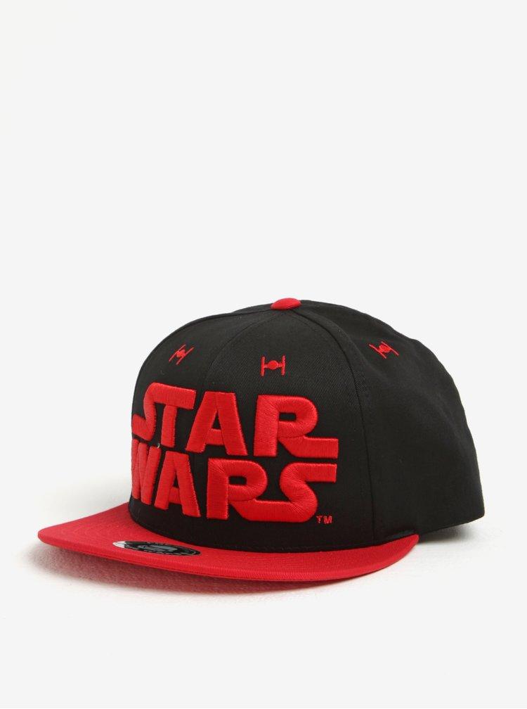 Černo-červená pánská kšiltovka Star Wars