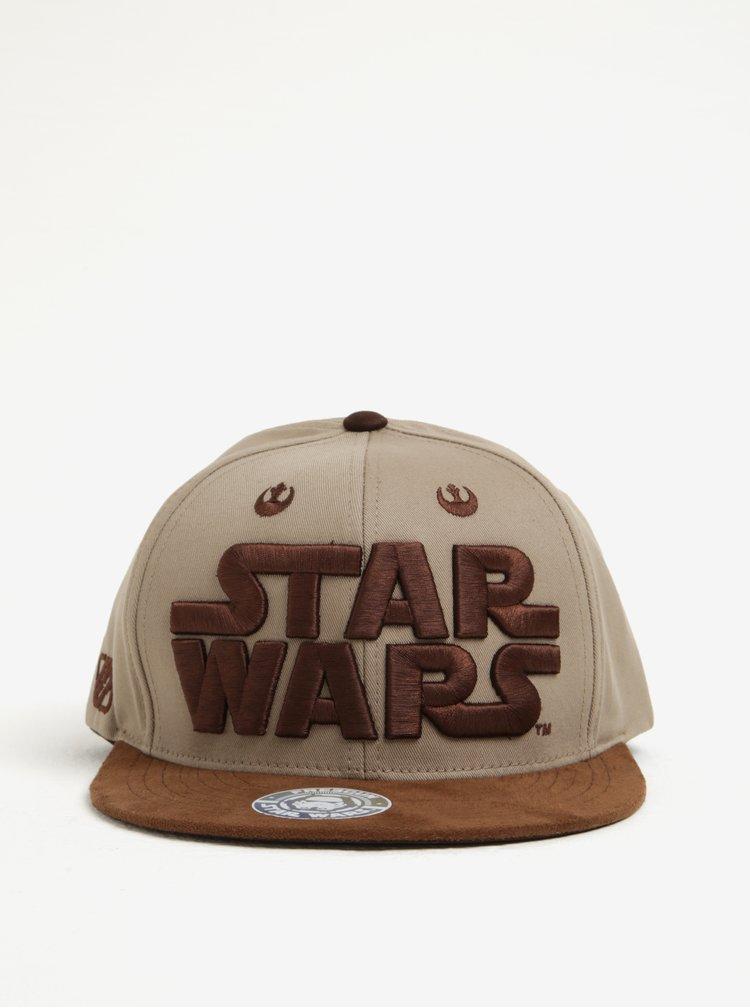 Hnědá pánská kšiltovka Star Wars