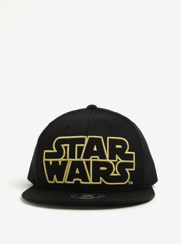 Černo-žlutá pánská kšiltovka Star Wars