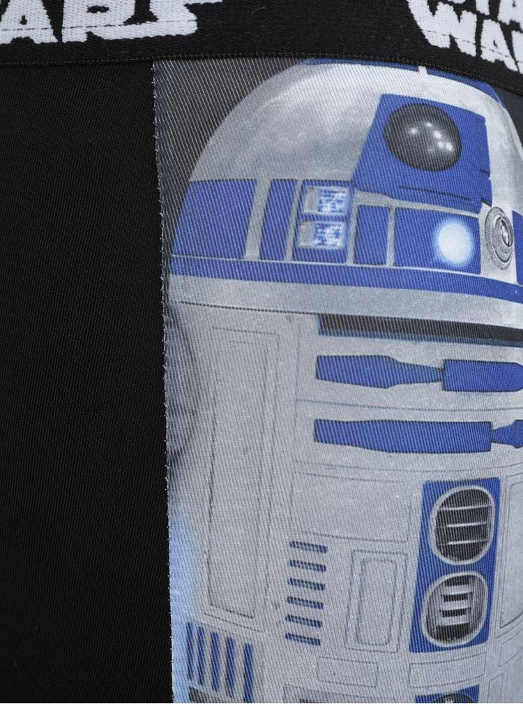 Modro-černé klučičí boxerky s potiskem Star Wars