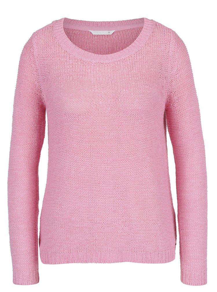 Růžový svetr ONLY Geena