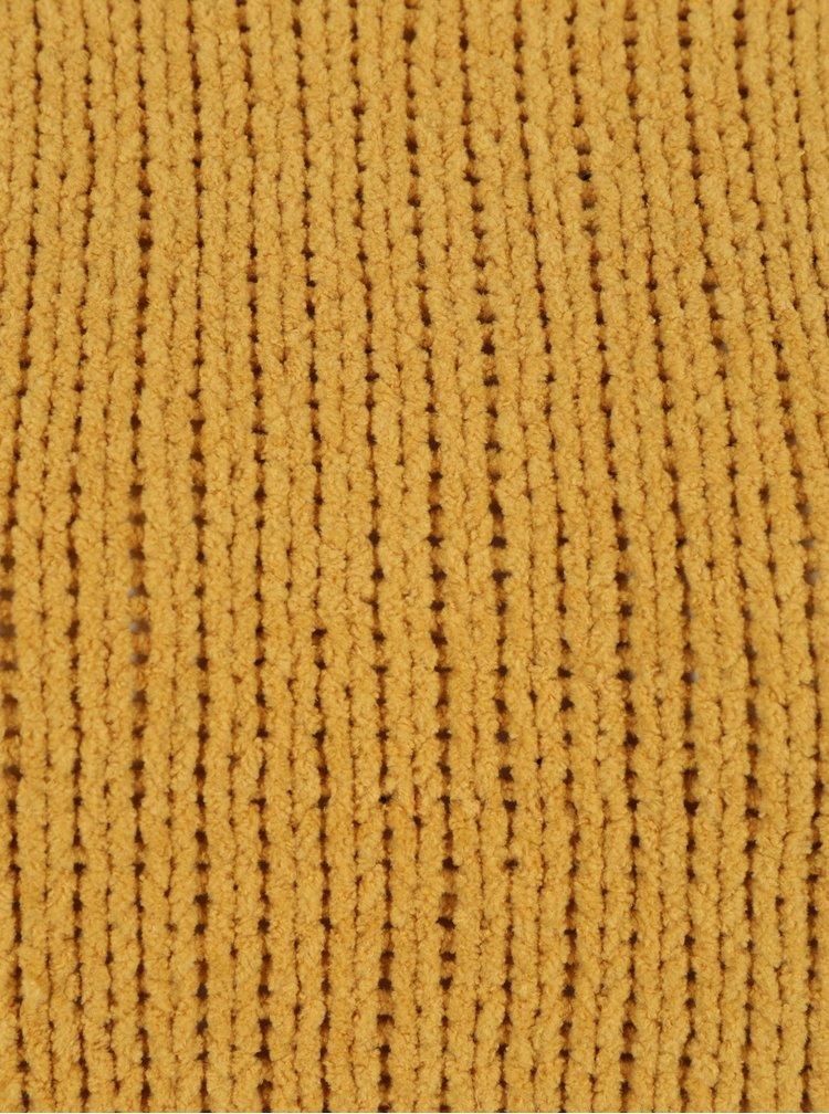 Hořčicový svetr ONLY Ivy