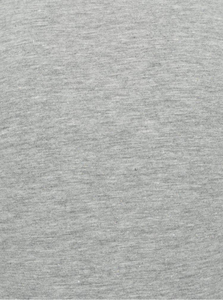 Sada dvou dětských tílek v šedé a bílé barvě name it