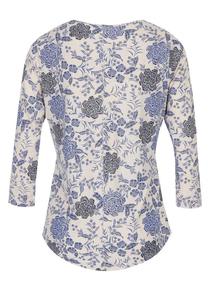 Bluza cu maneci 3/4 si print floral pentru femei M&Co