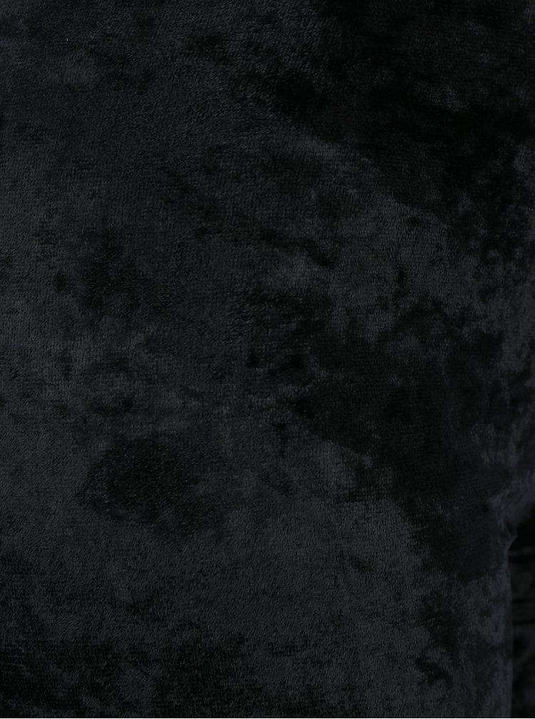 Černé sametové legíny Gipsy