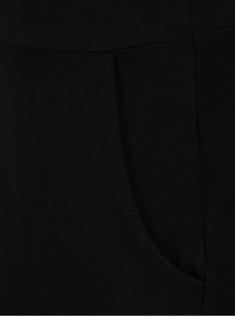 Rochie neagra cu buzunare si maneci 3/4  ZOOT