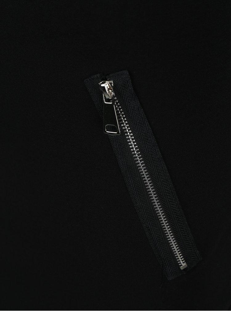 Rochie neagra cu fermoare ZOOT
