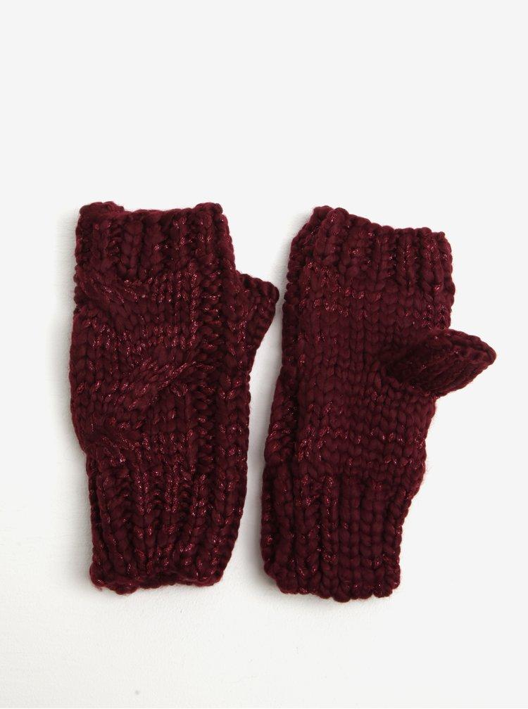 Vínové rukavice bez prstů Dorothy Perkins