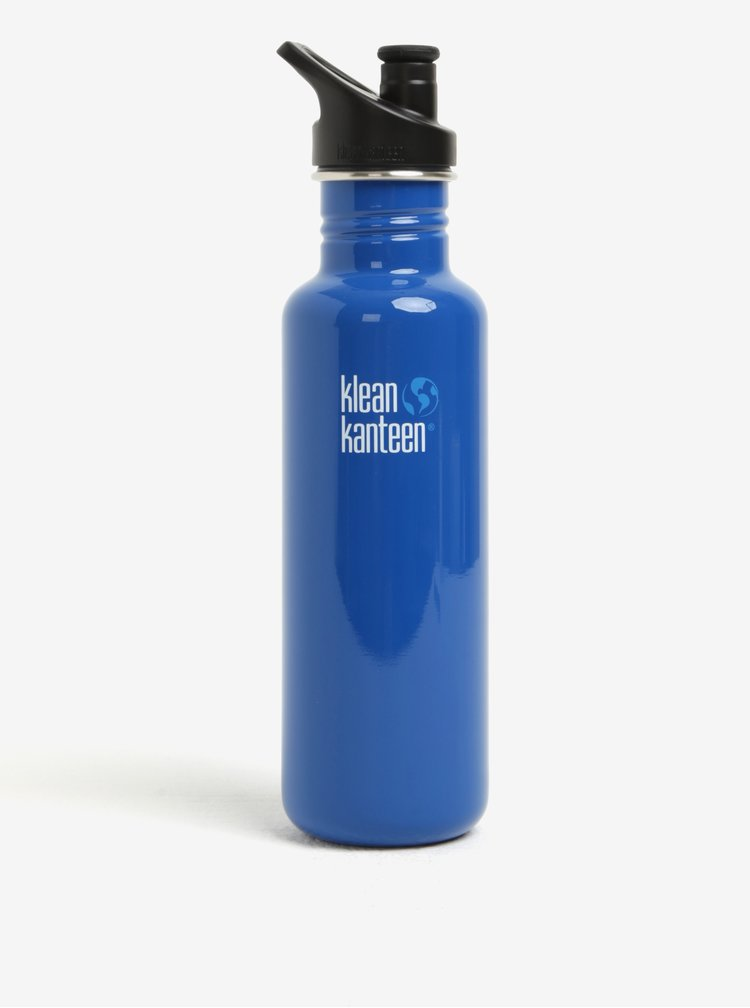 Modrá nerezová lahev Klean Kanteen Classic 800 ml