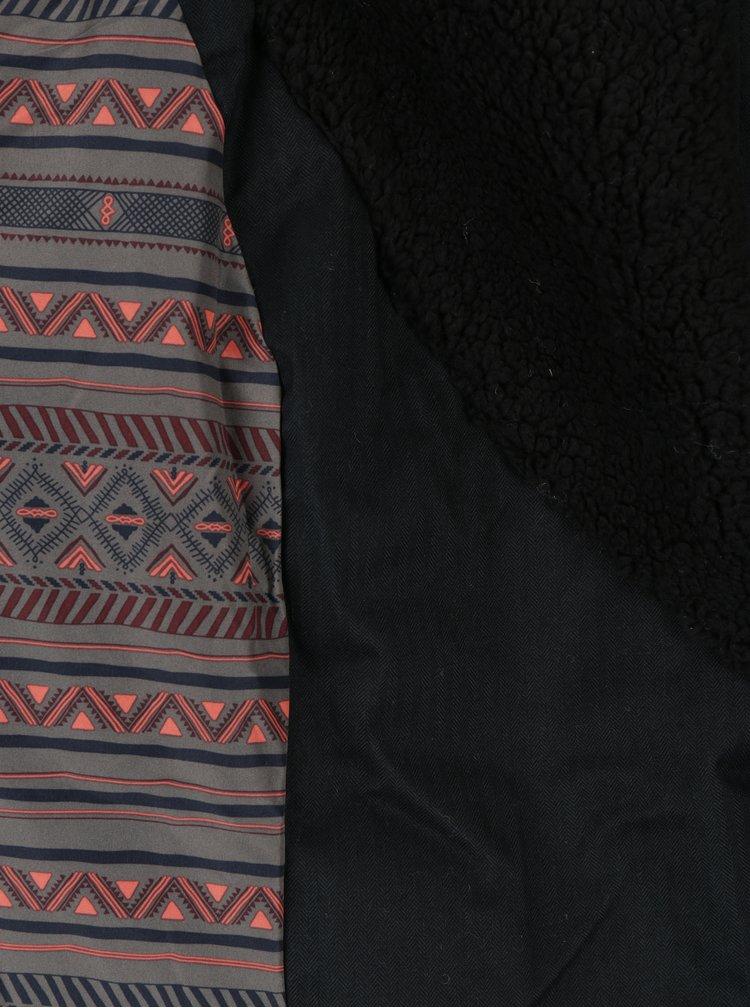 Geaca neagra cu gluga pentru femei - Ragwear Gordon