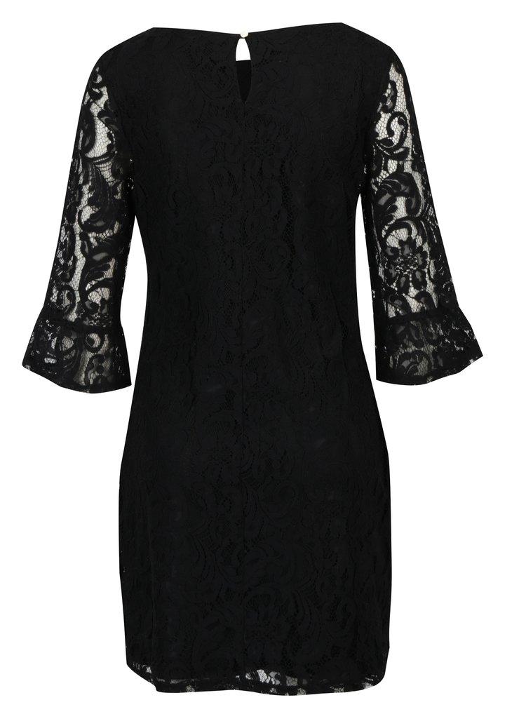 Černé krajkové šaty Dorothy Perkins Petite