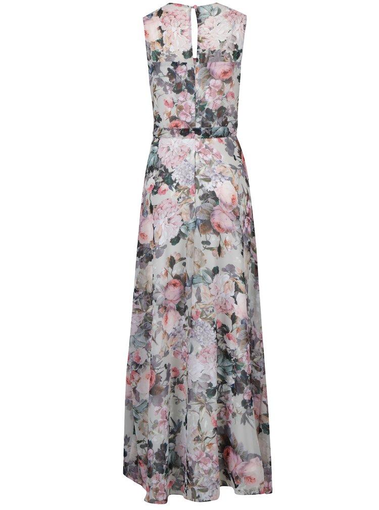 Rochie maxi fara maneci  cu print floral Dorothy Perkins