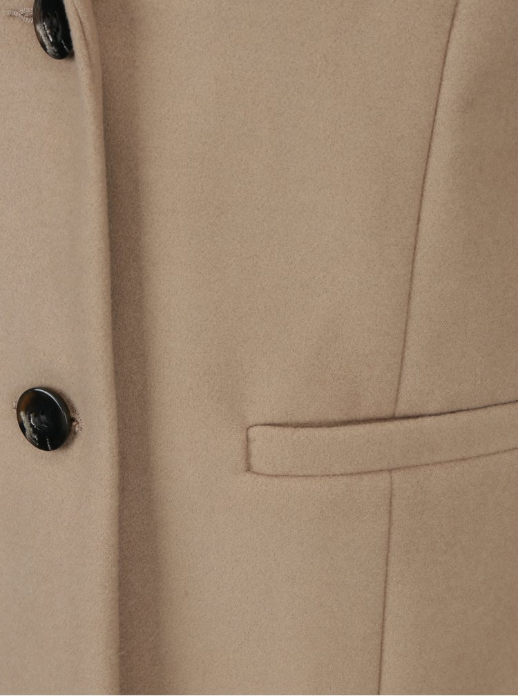 Béžový kabát Dorothy Perkins Tall