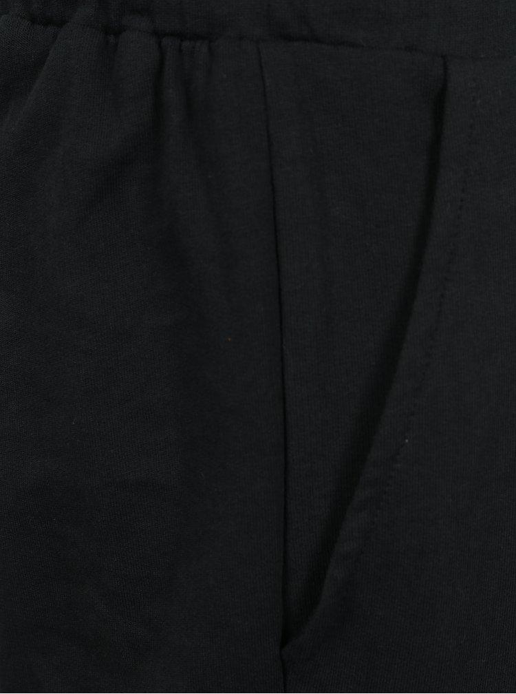 Černý holčičí overal s gumou v pase Blue Seven