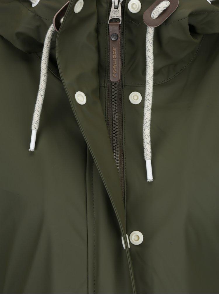 Khaki dámská zimní bunda s kapsami Ragwear Marge