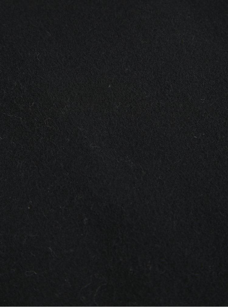 Černá vlněná šála Selected Homme Tope