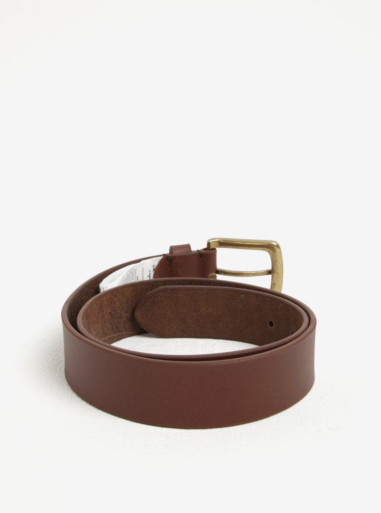 Hnědý pánský kožený pásek Pepe Jeans New Balkio