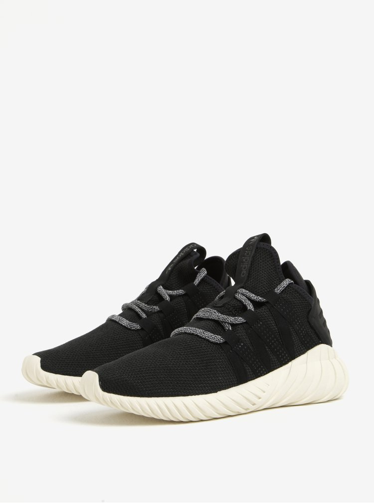 Pantofi sport negri pentru femei  adidas Originals Tubular