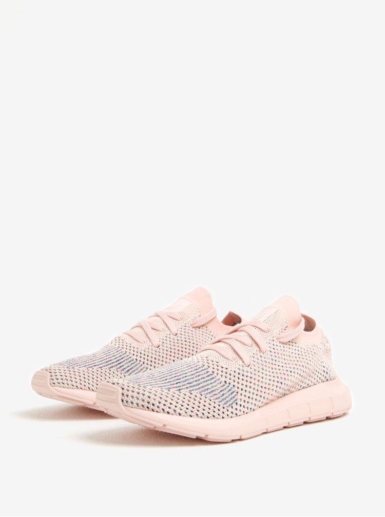 Světle růžové dámské tenisky adidas Originals Swift Run PK