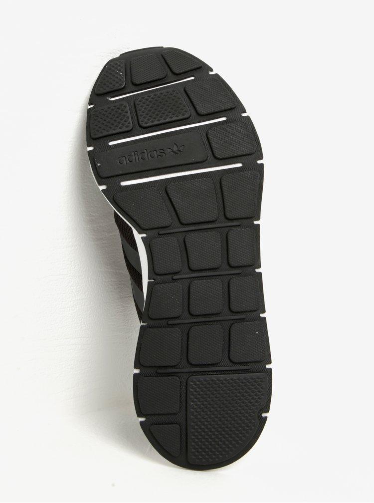 Zeleno-černé pánské tenisky adidas Originals Swift Run