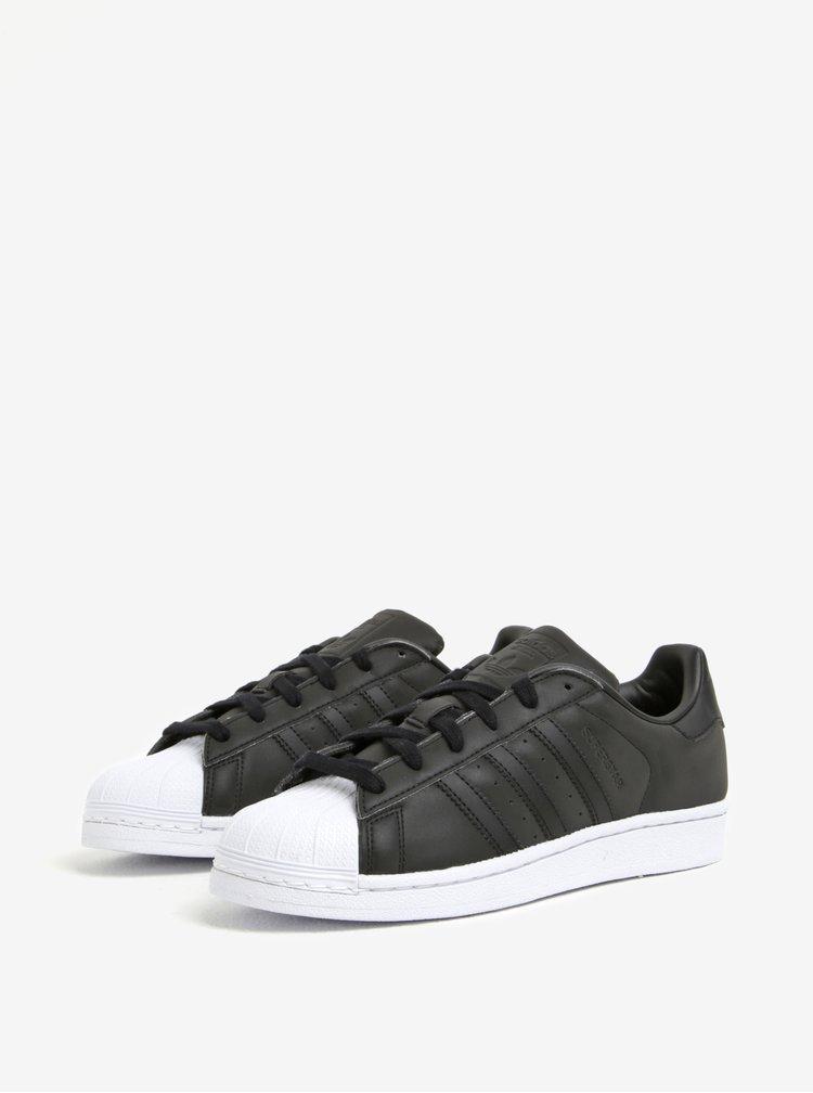 Černé dámské tenisky adidas Originals Superstar