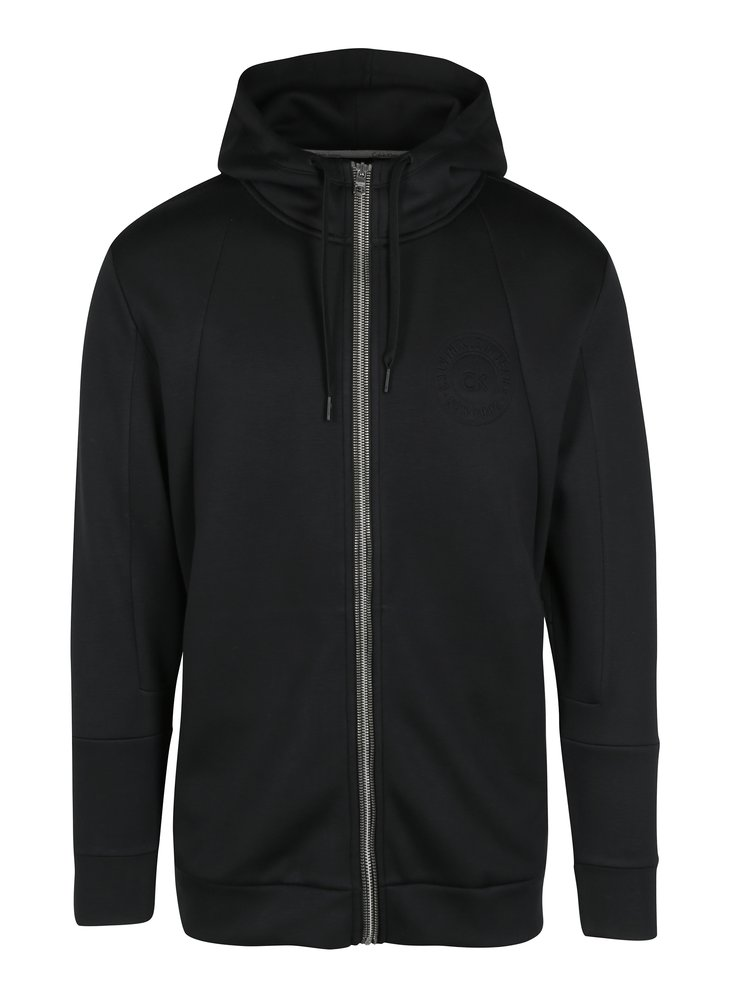 Černá pánská mikina s kapsami Calvin Klein Jeans Hodes