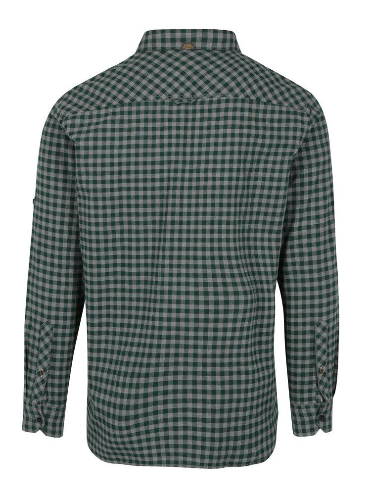 Zelená pánská regular košile s kapsami s.Oliver