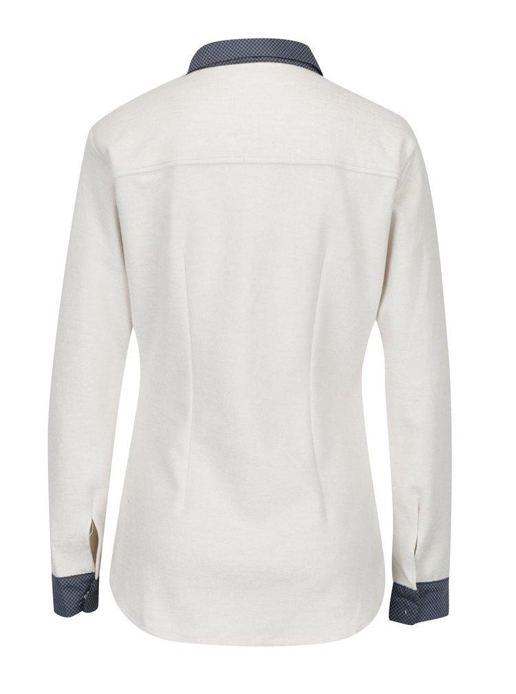 Krémová košile s dlouhým rukávem La femme MiMi
