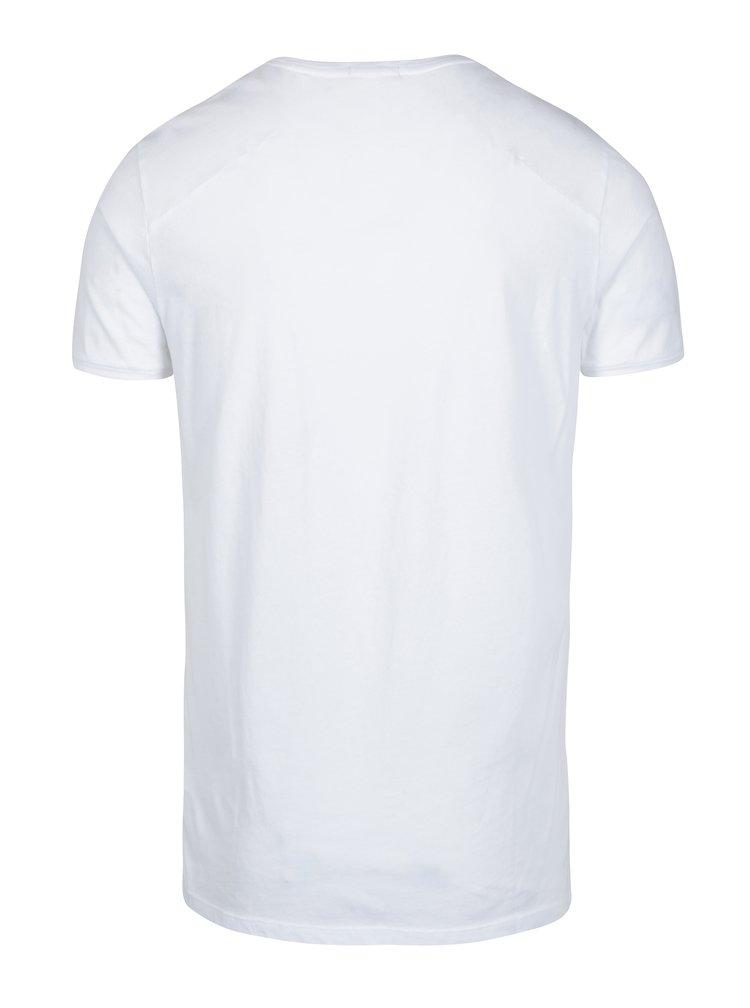 Bílé pánské tričko Calvin Klein Jeans Bron