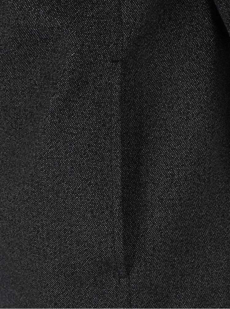 Tmavě šedý žíhaný slim fit bomber Jack & Jones Premium Robin