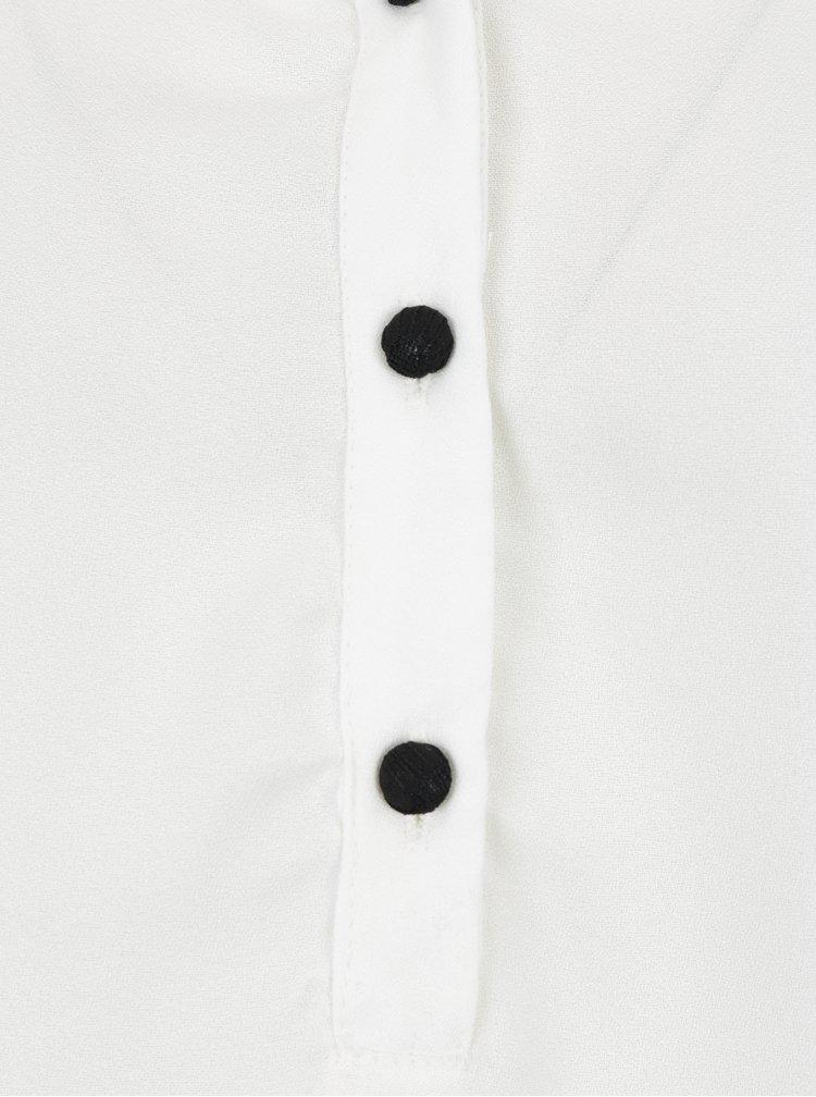 Bílá halenka s krajkovými detaily VERO MODA Sharpa