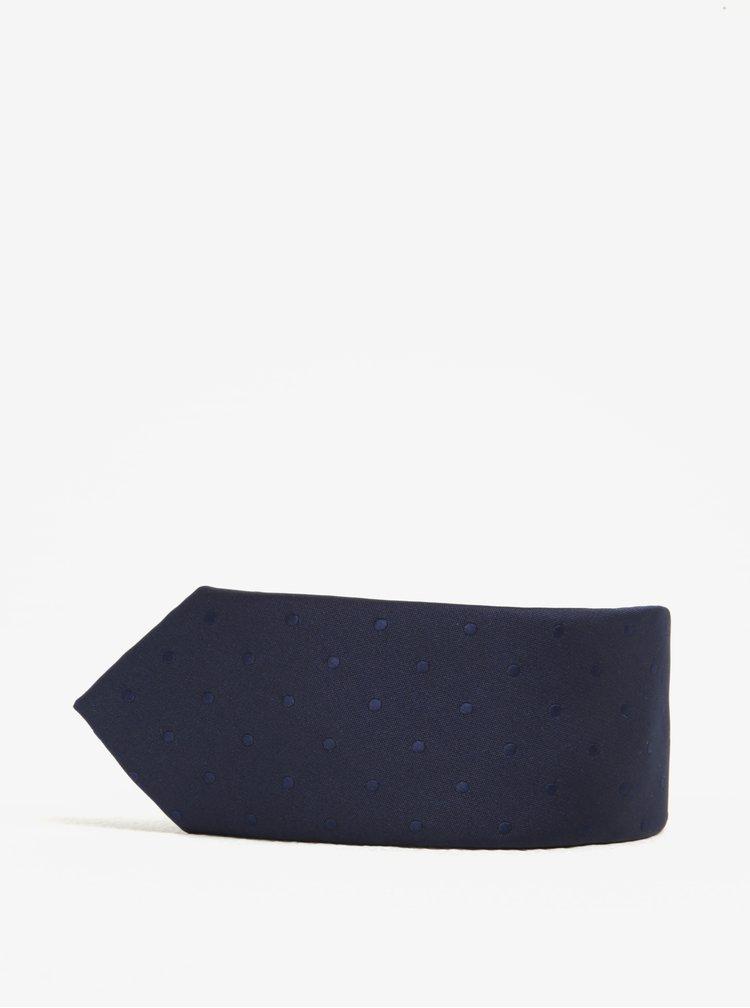 Set kravaty, motýlku a kapesníčku v modré barvě Jack & Jones Premium Necktie