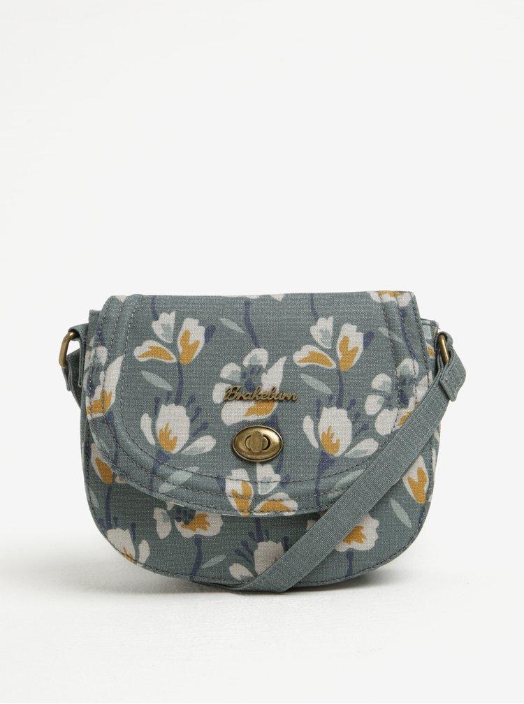 Zelená květovaná kabelka Brakeburn