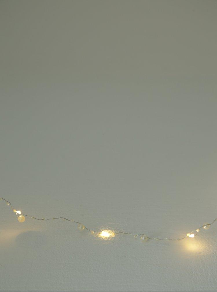 Bílý LED světelný řetěz Kaemingk